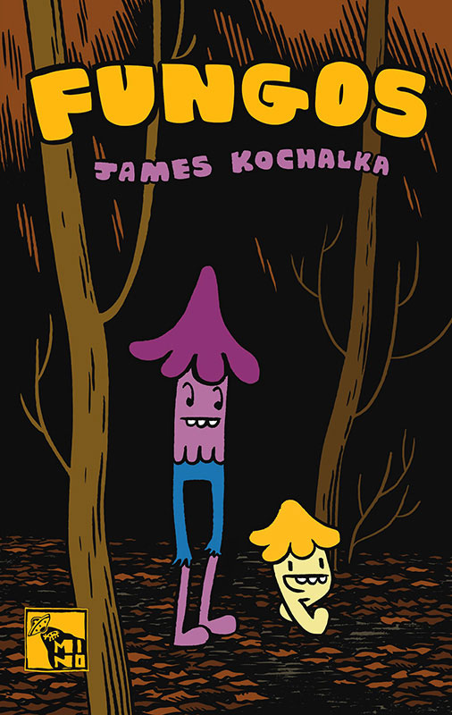 Mino-lança-Fungos,-de-James-Kochalka,-e-anuncia-mais-um-título_capa
