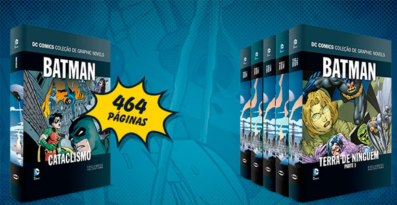 Eaglemoss-lança-coleção-de-graphic-novels-do-Batman-em-seis-volumes