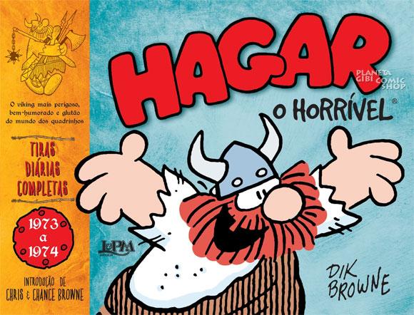 L&PM-lança-Hagar,-o-horrível-–-Tiras-Diárias-Completas-1973-1974_capa