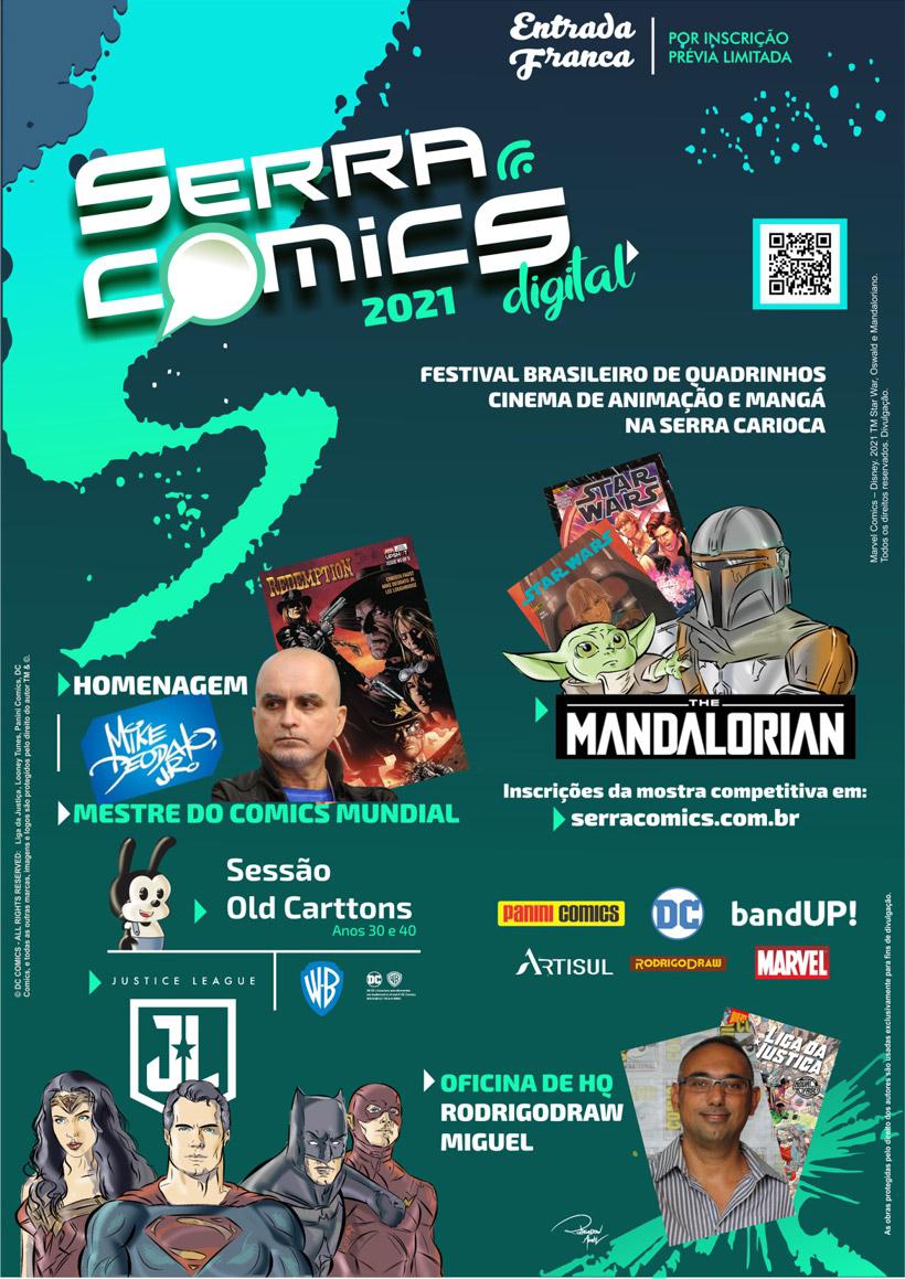 Serra Comics 2021 - Cartaz