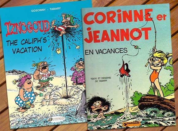 Iznougoud e Corinne e Jeanot