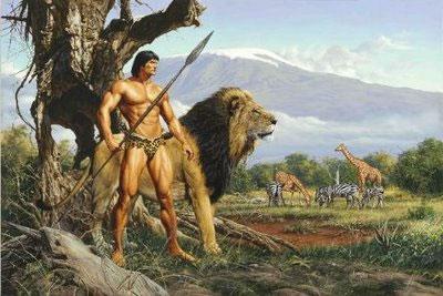 Tarzan na África