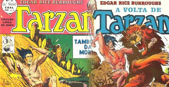 Tarzan no Brasil pela EBAL